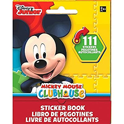 Disney Mickey Mouse Sticker Booklet | Party Favor: Toys & Games