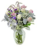 #4: Deluxe Mixed Bouquet of Masterful Floral Beauty with Free Vase Included