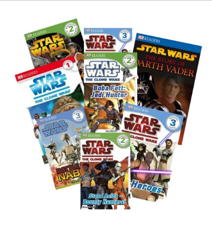 Dk Reader Star Wars Set (8 Books) : Watch Out for Jabba the Hut; Don't Wake the Zillo Beast; Tatooine Adventures; What Is a Wookie; Pirates and Worse; Journey Through - Hut Watches