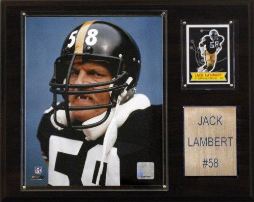 NFL Jack Lambert Pittsburgh Steelers Player Plaque ()