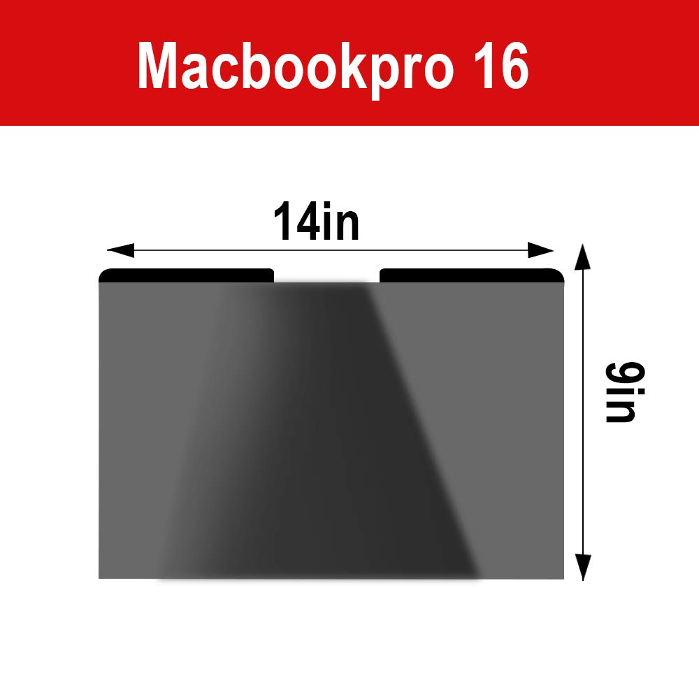 Forhouse Compatible with MacBook Pro 16 Inch Privacy Screen Protector Magnetic Privacy Screen Laptop Screen Filter PET Protective Film Anti-Scratch Screen Cover for MacBook Pro 16 Inch