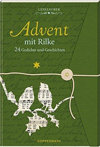 Lesezauber  Advent Mit Rilke   Briefbuch Zum Aufschneiden  24 Gedichte Und Geschichten  Adventskalender