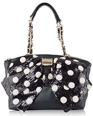 Betsey Johnson Oh Bow Nanza Glam Satchel Shoulder Bag