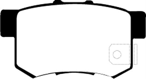 EBC Brakes DP21724 Greenstuff 2000 Series Sport Brake Pad