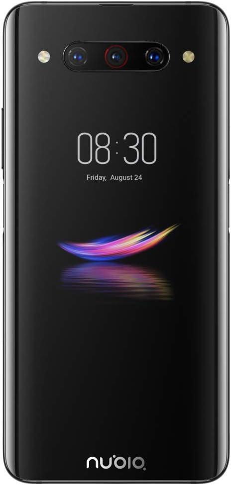 ZTE Nubia Z20 - Pantalla doble de 6,42 pulgadas, 128 GB, 6 GB de RAM (GSM solamente, sin CDMA) desbloqueado de fábrica - Versión internacional (negro): Amazon.es: Electrónica