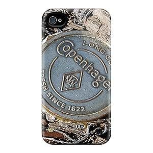 AlissaDubois Apple Iphone 4/4s Best Hard Cell-phone Case Custom Realistic Copenhagen Camo Pictures [TIa28391Rakj]
