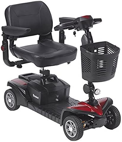 Amazon.com: Drive Medical Spitfire DST 4-Wheel Scooter de ...