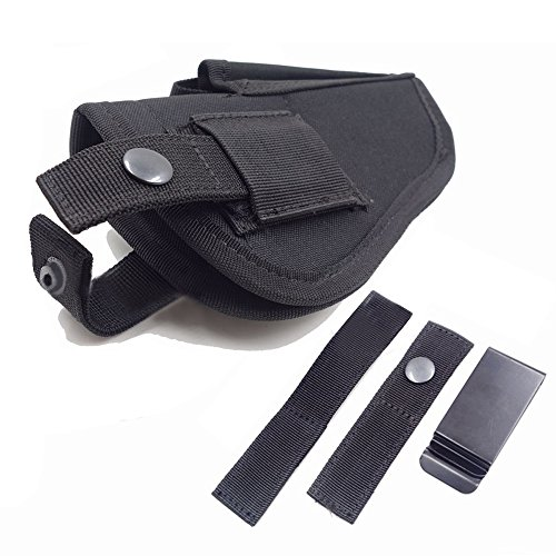 Thiroom Tactical Waistband Nylon Black Holster Waist Belt Ha