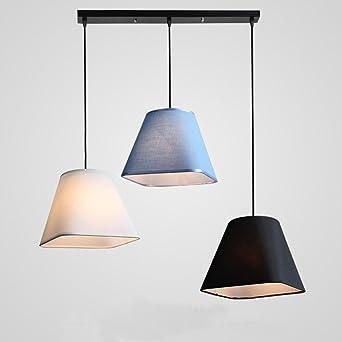 Modern Designer Stoff Textil Lampenschirm mit Pendelleuchte ...