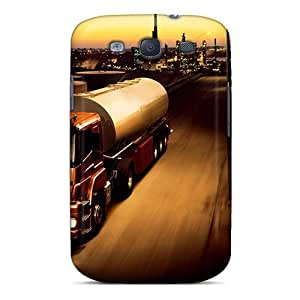 Forever Collectibles Fuel Tanktruck Hard Snap-on Galaxy S3 Case