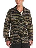 Propper Men's BDU Coat, Asian Tiger Stripe, Large Regular