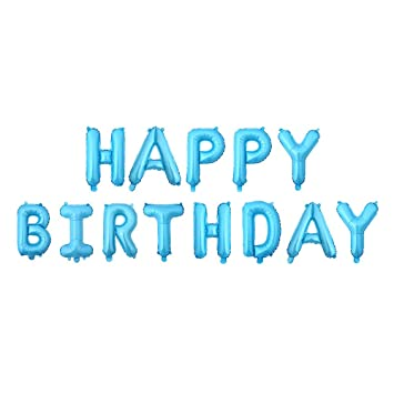 Amazon.com: Globos de felicitación de cumpleaños, grandes ...