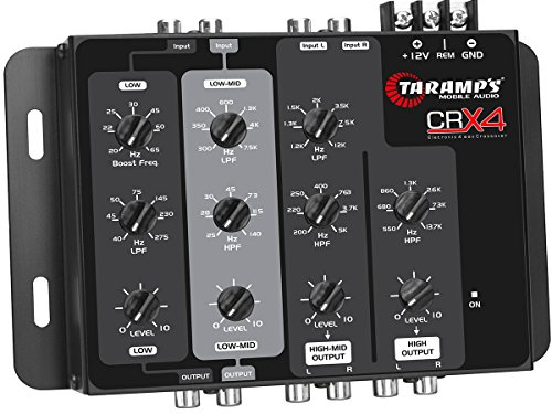 Taramp's CRX 4 4 Way Compact Electronic Crossover