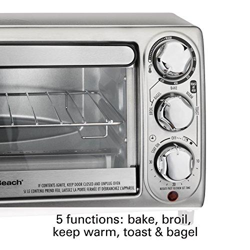 Hamilton-Beach-31143-Toaster-Oven-Silver