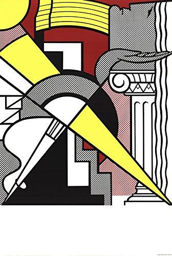 Roy Lichtenstein Lithograph - Roy Lichtenstein-Arrow and Column-1967 Lithograph