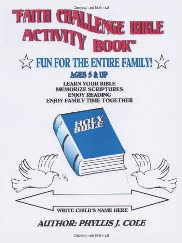 Faith Challenge Bible Activity Book