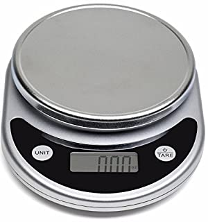 Mosiso - Pro Digital Kitchen Food Scale, 1g to 11 lbs Capacity (Silver) (B00JRFB2YM) | Amazon price tracker / tracking, Amazon price history charts, Amazon price watches, Amazon price drop alerts