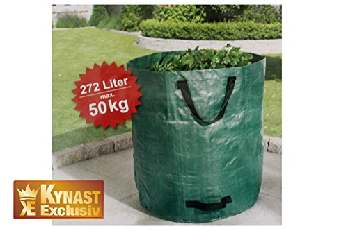 Garten Laubsack 272 Liter bis 50 Kg Laub Sack Müllsack