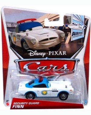 Disney/Pixar Cars 2012 Airport Adventure Die-Cast Security Guard Finn #4/7 1:55 - Car Guard Diecast