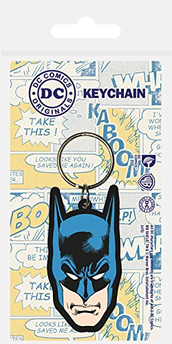 DC Comics Llavero caucho Batman 6 cm: Amazon.es: Juguetes y ...