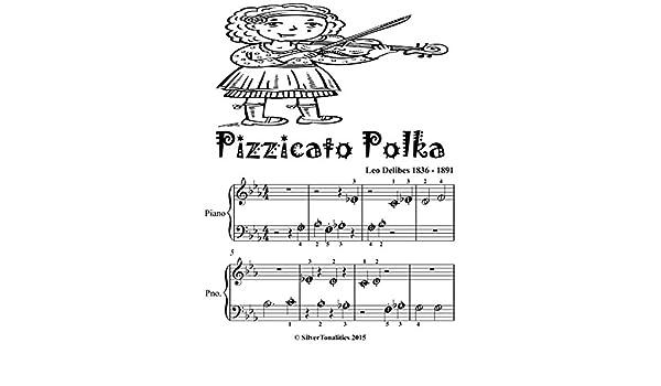 Pizzicato Polka Beginner Piano Sheet Music Tadpole Edition
