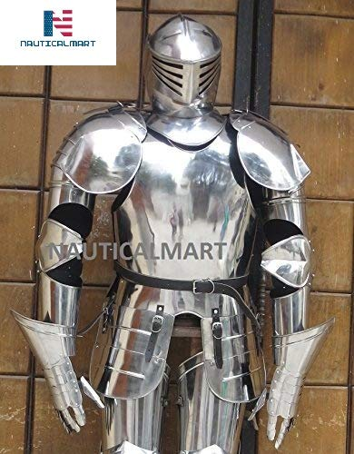 NauticalMart Medieval Knight Wearable Full Suit of Armor Collectible  Halloween Costume