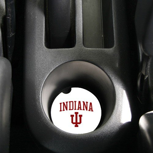 NCAA Indiana Hoosiers Absorbent Car Coaster -Pack Of 2]()