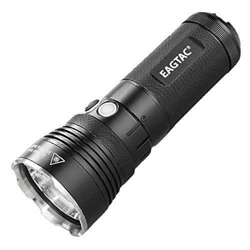 Eageltac MX30L3-R Rechargeable Flashlight Kit Model -4625 Lumens -CREE XHP70 N4 LED