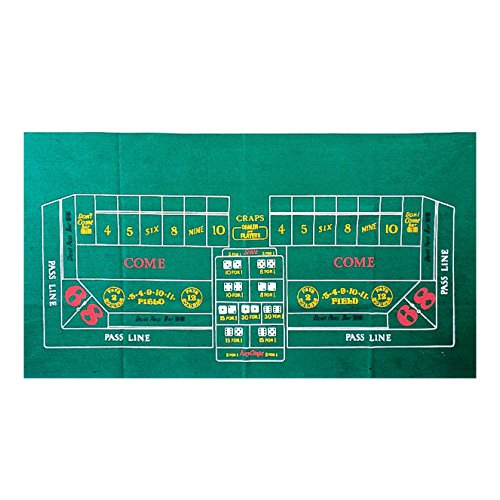 Craps Laydown Cloth by U.S. Toy