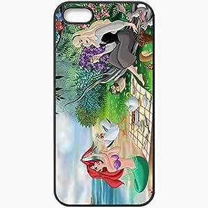 Personalized For SamSung Galaxy S5 Phone Case Cover Skin Walt Disney Little Mermaid Sleeping Beauty Story Fanart Cartoon Black