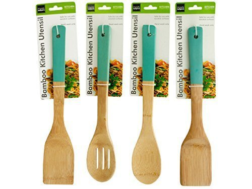 Kole HR416 Bamboo Kitchen Utensil, - Server Accesories