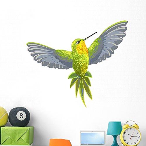 Wallmonkeys Hummingbird Wall Decal Peel and Stick Graphic (48 in W x 39 in H) WM321623