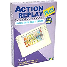 Datel Action Replay 4M Plus - Ultimate enhancement for your Saturn console - Sega Saturn