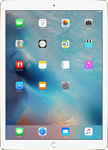 Apple iPad Pro (128GB, Wi-Fi + Cellular, Gold) 12.9″ Tablet (Certified Refurbished)