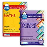 GCSE Maths (Higher) & Science Study Pack | Pocket Posters: The Pocket-Sized Revision Guides | GCSE Specification | Free Digital Editions with Over 1,000 Maths Assessment Questions!