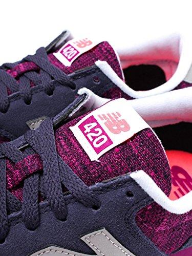 Zapatillas para New Running Balance 420 Grises de violeta Mujer PFxBwg