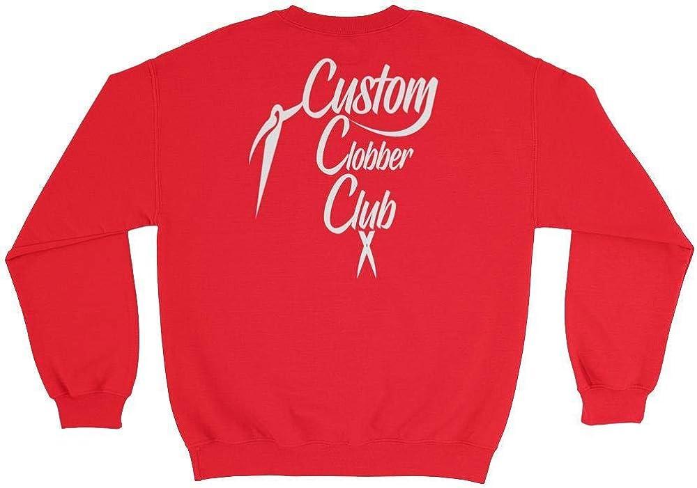 Custom Clobber Club Classic Logo #1 Unisex Zip-UP Hoodie Sweater