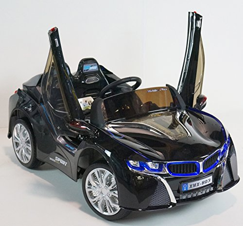 BMW i8 Style Premium 12-volt MP3 Electric Battery Powered ...