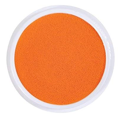 Ready 2 Learn Jumbo Circular Washable Stamp Pad - Vivid Orange - 5.75