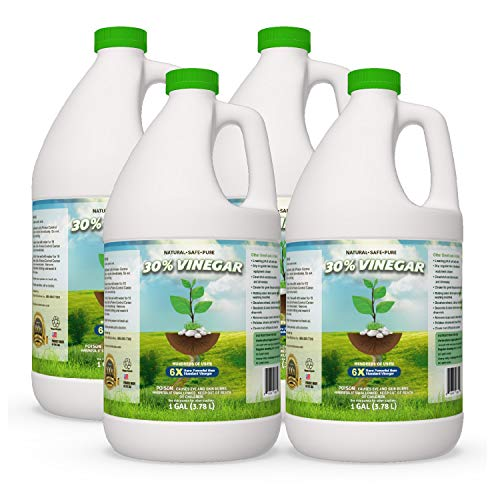 30% Pure Vinegar - Home&Garden (4 Gallon case) (Best All Purpose Weed Killer)