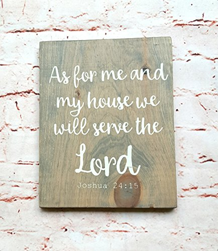 Scripture wall art wood, Bible verse on wood, Christian signs for home, Wood wall art, Wooden signs with sayings