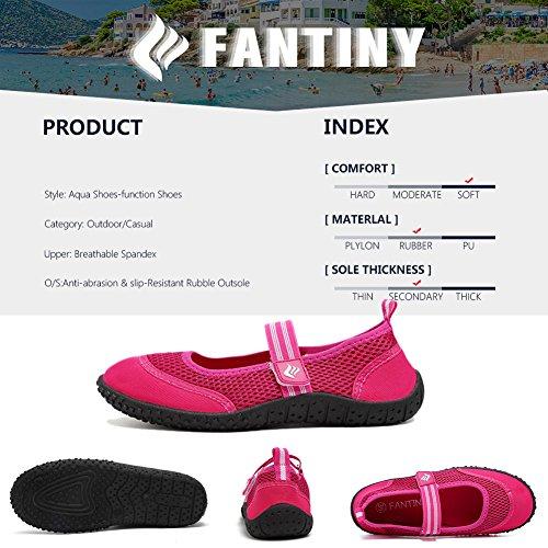 Cior Heren En Dames Aquaschoenen Sneldrogend Water Sportschoenen Voor Strand Zwembad Varen Zwemmen Surf Rose