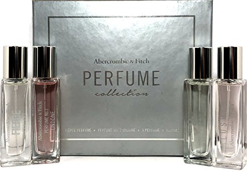 Abercrombie & Fitch Perfume Collection 4 pcs Fragrance, used for sale  Delivered anywhere in USA