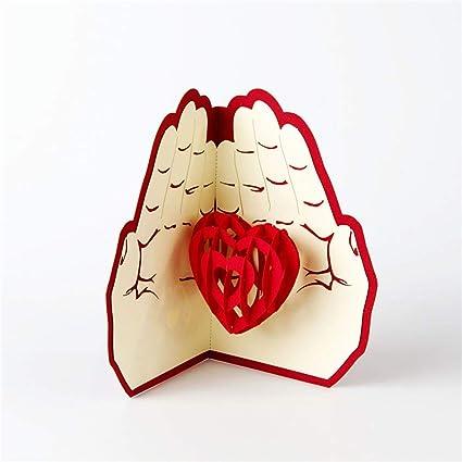 Tarjeta de felicitación 3D para el Día de la Madre con ...