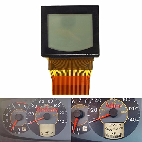 LCD with Bonded Ribbon for 2004 2005 2006 Nissan Quest Speedometer Cluster ()