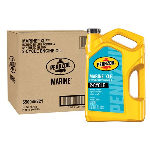 Pennzoil 550045221-3PK 1 gallon Marine XLF Engine Oil (1 gal. jug 3pk.) by Pennzoil
