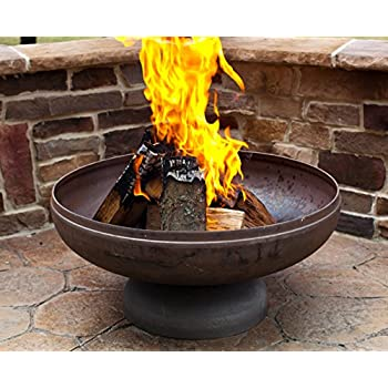 Ohio Flame 30in. Diameter Fire Pit in Natural Steel Finish