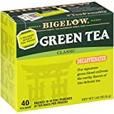 Bigelow Decaffeinated Green Tea Bags, 40 Count Box (Pack of 6) Decaf Green Tea, 240 Tea Bags Total