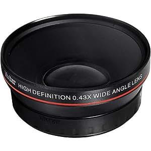 52MM 0.43x Amplio Angulo/Macro Lente Conversion para Nikon D3000, D3100, D3200, D5000, D5100, D5200, D5300, D7000, D7100, D3, D4, D40, D40x, D50, D60, D70, D70s, D80, D90, D100, D200, D300, D600, D610, D700, D800 & D800E Digital SLR Camaras [IMPORTADO]