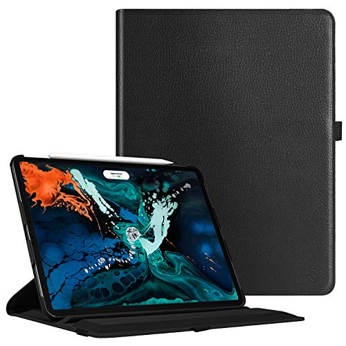 (Fintie Case for iPad Pro 12.9 3rd Gen 2018 [Supports 2nd Gen Pencil Charging Mode] - Multiple Angles Stand Protective Cover with Auto Sleep/Wake,)